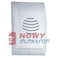 Dzwonek kompakt 230V DNS-002/N biały