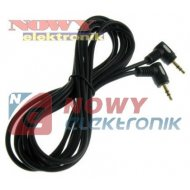 Kabel Jack 3,5st wt.-wt.5m kąt Ł Łezka