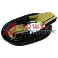 Kabel SCART-SCART 21p 1,5m