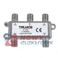 Spliter F*4 5-1000MHz GC-1004 do TV DVB-T