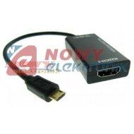 Konwerter Micro USB/HDMISAMSUNG Kabel MHL-HDMI przej.