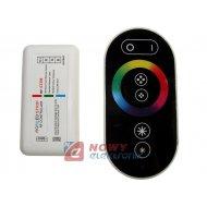 Sterownik LED RGB 18A 433Mhz cz. czarny 6A na kanał RF