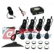 Czujnik Cofania BS415 czarne  - 4 czujniki, wyświetlacz LED, HANTOM