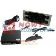 Czujnik Cofania BS405 BL wyświetlacz LCD HANTOM