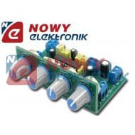Zestaw AVT1670B regulator barwy dźwięku stereo(przedwzmacniacz,korektor)
