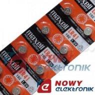Bateria AG3 MAXELL zeg.L736 192 alkal.LR41