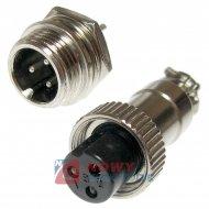 Złącze przem. DS-11-10-01-3B6 (wt+gn)  przemysłowe MINI