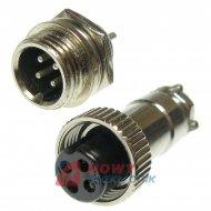 Złącze przem. DS-11-10-01-4B6 (wt+gn)  przemysłowe MINI