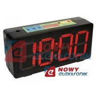 Zegar sportowy stoper przenośny LED  timer chronometr VELLEMAN