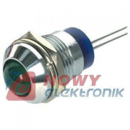 Oprawka LED 10mm RTM1090 metal. AC-10  wypukła