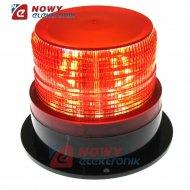 Sygnalizator bł. LED 12-24V cze. IP44 czerwony błyskowy