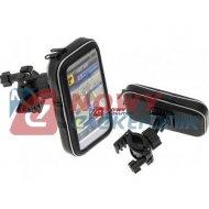 Uchwyt Smartfona rowerowy XL motocyklowy telefonu wodoodporny