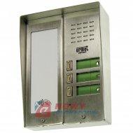 Panel 5025/3D-RF 3 p.+ daszek z czytnikiem RFID