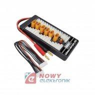Adapter Ładowarka 6x XT60 równoległe ładowanie do 6 aku