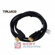Kabel HDMI 1,5m kątowy HDK37