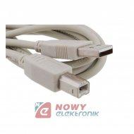 Kabel USB 2.0 wt.A/wt.B 4,5-5m drukarka