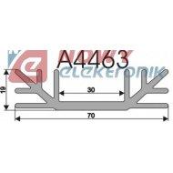 Radiator A4463 L-3cm