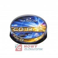 Płyta CD-R Titanum cake box10szt