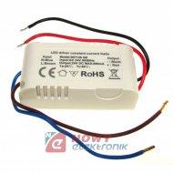 Zasilacz ZI LED prąd. 650mA 24V wej. 24VAC wyj.24VDC LED Driver
