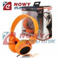 Słuchawki LTC58 nauszne pomar. jack 3,5mm