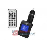 Transmiter FM LTC K17 USB/SD/   microSD + kabel JACK