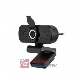 Kamera PC REBEL FHD 1080p       mikrofon INTERNETOWA USB