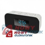 Radiobudzik Kruger&Matz  1150 Bluetoothy,AUX,USB