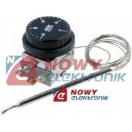 Termostat z kapilarą 0-40C czujnik temp. 10A 400VAC