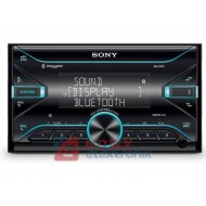 Radio samoch.SONY DSX-B700BT2DI USB/BT/NFC/ Multicolor 2DIN