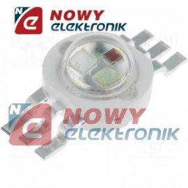 Dioda LED 3W RGB EMITER 70lm bez radiat.50/70/20lm 120°(luxeon) 3,3V