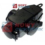 GNIAZDO elekt.dwustronne 3x IP44 ELGOTECH hermetyczne
