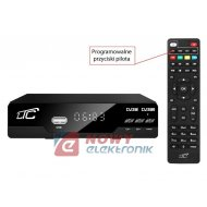 Tuner TV naz. LTC HDT102 DVB-T-2 z pilotem programowalnym