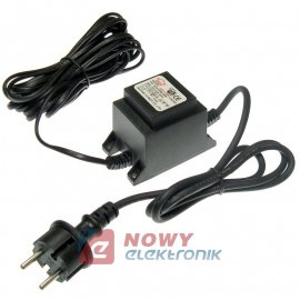 Zasilacz ZZ 12V 3A AC (kabel)   Zasilacz napięcia zmiennego