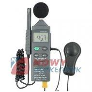 Miernik cyfrowy 4w1 MWF8820  sonometr, luksomierz, higrometr, termom.