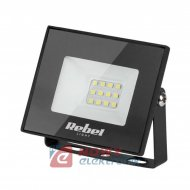 Halogen LED 10W 3000K REBEL black