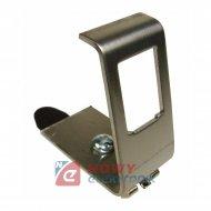 Uchwyt mocujący na szynie TS35 DIN, metal keystone