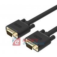Kabel do mon. HDB15M/M 20m VGA PREMIUM UNITEK Y-C508G SVGA