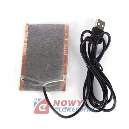 Mata grzewcza 8x10cm USB 5V 3.5W Folia