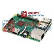 Raspberry Pi3 model B(komputer) ORYGINAŁ 1GB RAM Wi-Fi Micro SD 1,2GHz