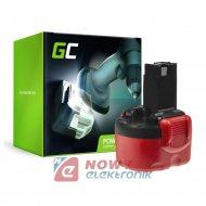 Akumulator Bosch 9.6V 2000mAh Ni-Cd GREEN CELL