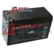 Akumulator 12V-7,2Ah         EPL LongLife EUROPOWER JAPAN TECH.