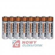 Bateria LR6 MEGACELL ALKALINE SUPER