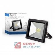 Halogen LED 20W czarny SLIM 6400 K 1750lm IP65 reflektor/naświetlacz