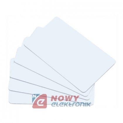 Karta zbliżeniowa MIFARE NFC BIAŁA i inne zgodne z Mifare 13,5MHz