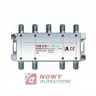 Spliter 1/8 Axing SVE 8-01 5-2320 MHz DVB-T/SAT rozgałęźnik 8-krot.