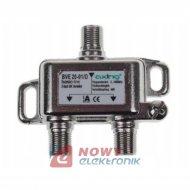 Spliter 1/2 Axing BVE 20-01 5-1006 MHz DVB-T rozgałęźnik 2-krot.