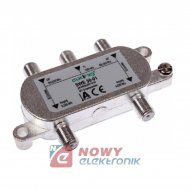 Zwrotnica SAT-TV SWE 30-01 AXING sumator-rozgałęźnik kombiner SAT TWIN+TV