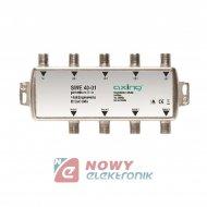 Zwrotnica SAT-TV SWE 40-01 AXING sumator-rozgałęźnik kombiner SAT QUAD+TV
