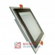Lampa panel LED Robby 6W Ciepły kwadrat biały 230VAC 3000K