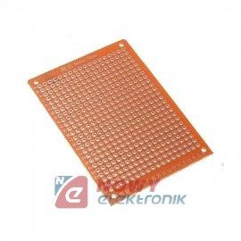 Płytka uniwers. 50x70mm PI01-PCB wiercona  -- 30278
